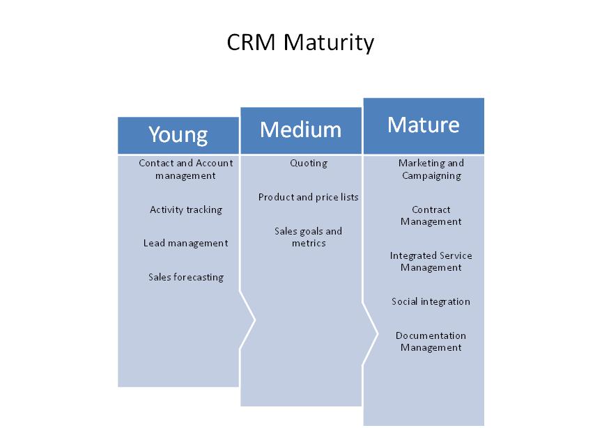 CRM Maturity Levels